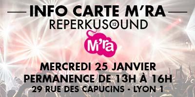 Festival REPERKUSOUND 12   CARTE M'RA   MEDIATONE