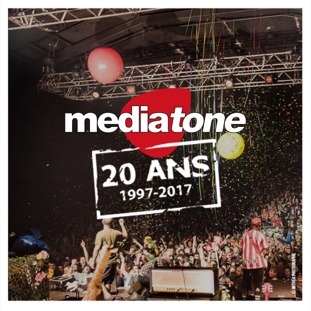 20 ans Mediatone Concerts à Lyon