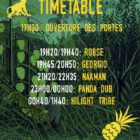 Time table festival les authentiks 14