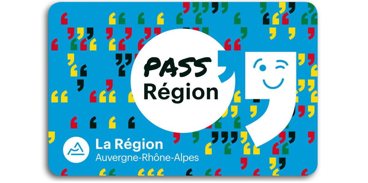 carte pass région partenaire de Mediatone avec l'avantage spectacle vivant