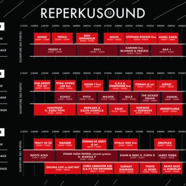 Timetable REPERKUSOUND 13 !