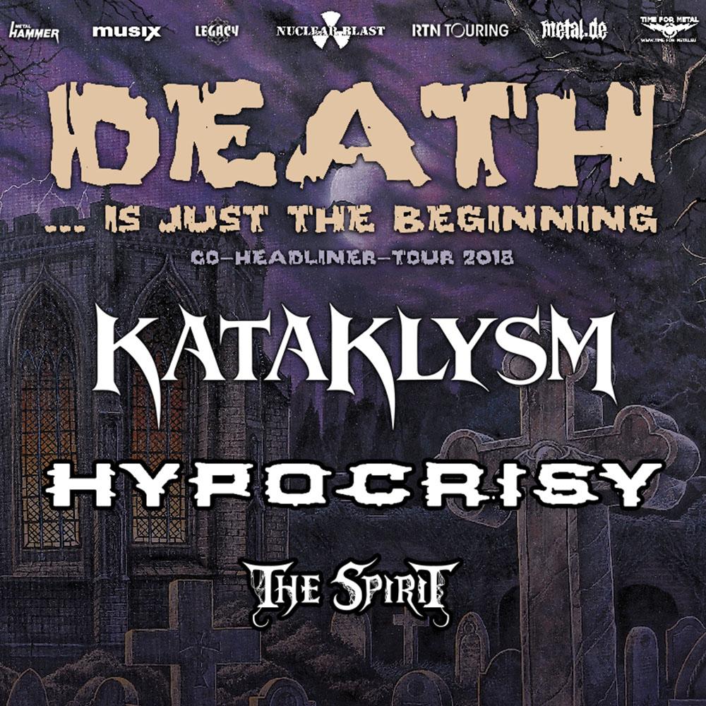 KATAKLYSM   HYPOCRISY ET THE SPIRIT en concert au Kao à Lyon avec Mediatone