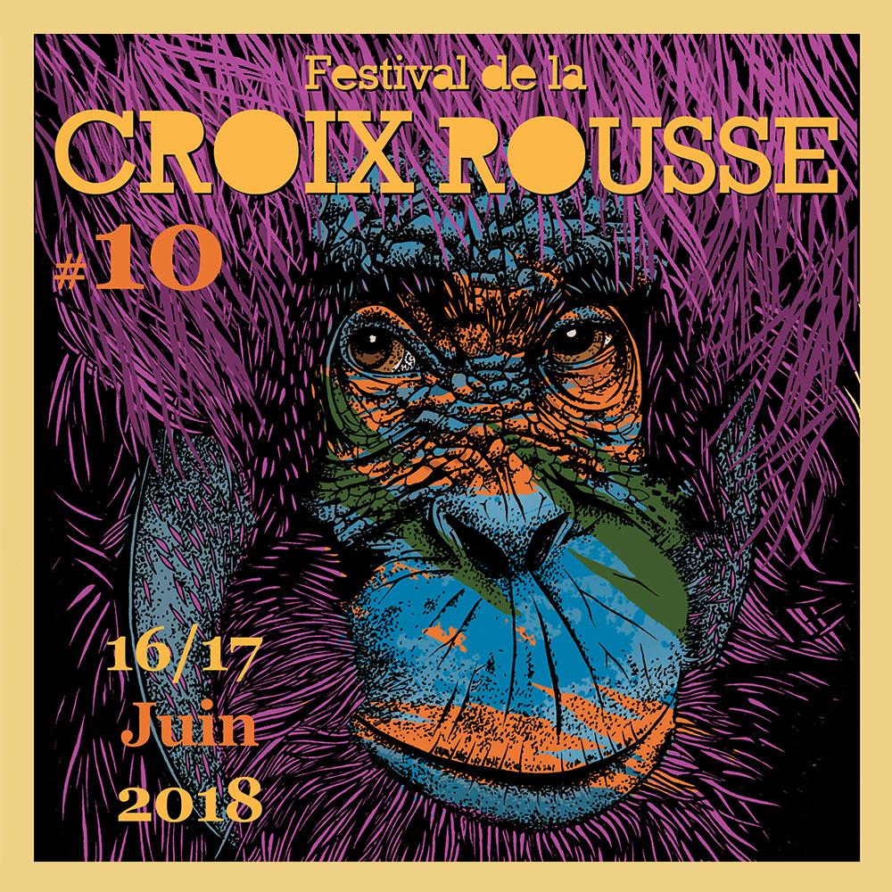 Festival de la Croix Rousse #10 - 2018 au Jardin des Chartreux avec Simaka et Mediatone