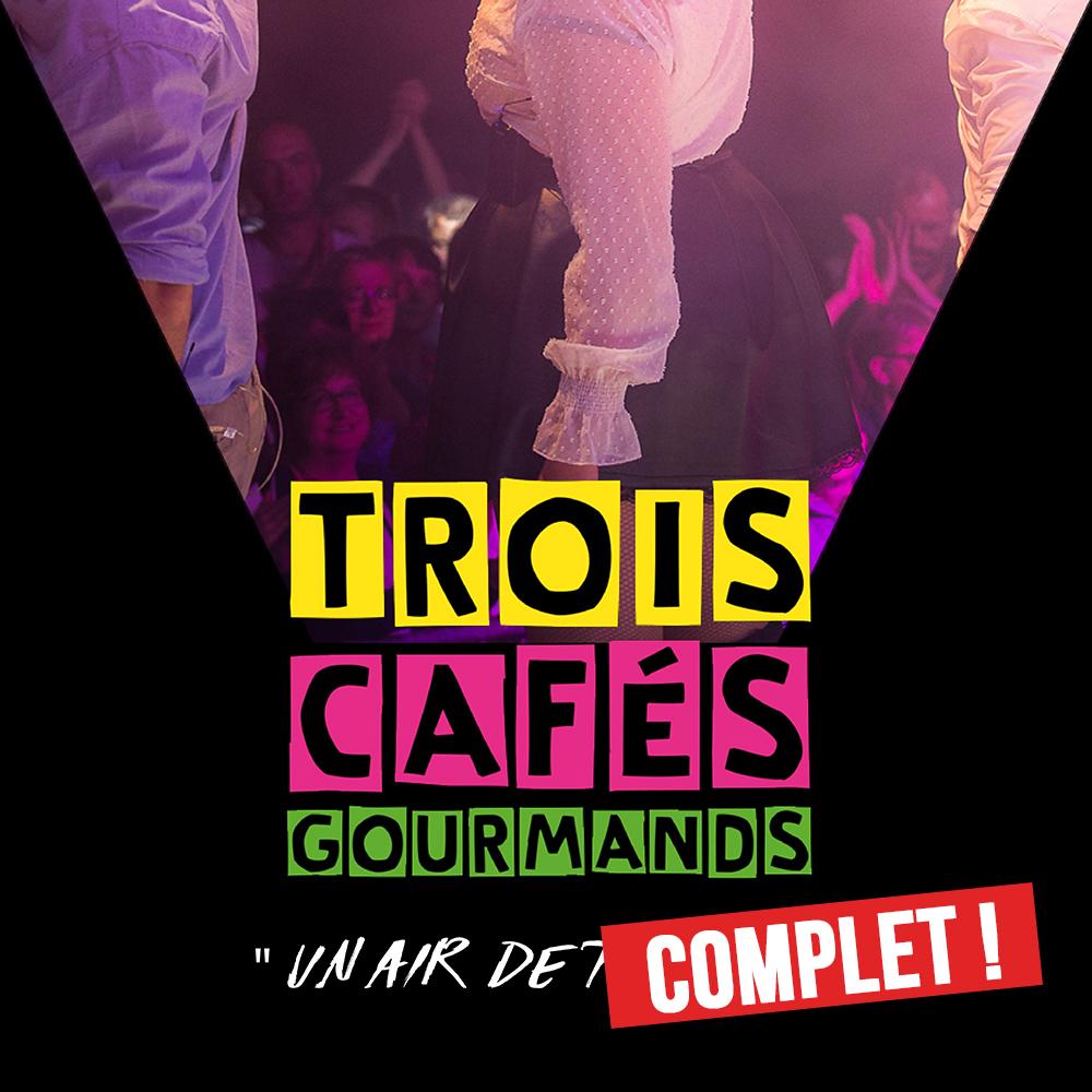 TROIS CAFÉS GOURMANDS en concert au Ninkasi Gerland kao avec Mediatone et le Périscope