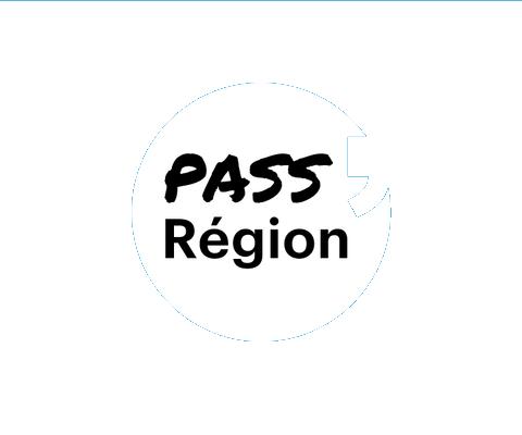 logo pass région partenaire de Mediatone