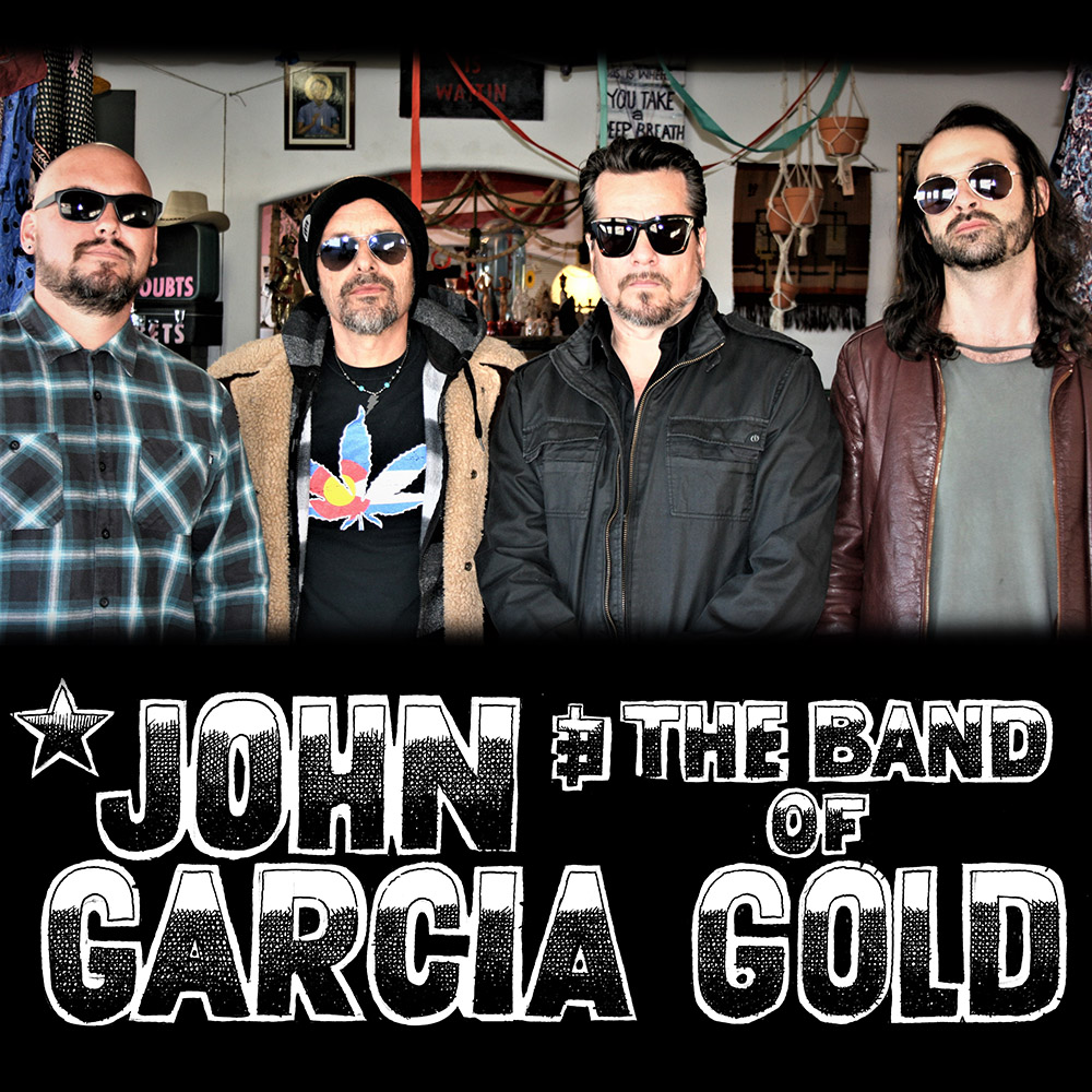 John Garcia and the band of gold en concert à Lyon avec Mediatone et Base Productions