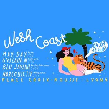Wesh Coast - Tout l'monde dehors palce de la croix rousse avec le Kraspek et Mediatone