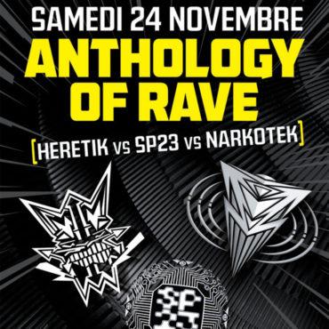 Anthology of Rave au Double Mixte avec Mediatone et Audiogenic