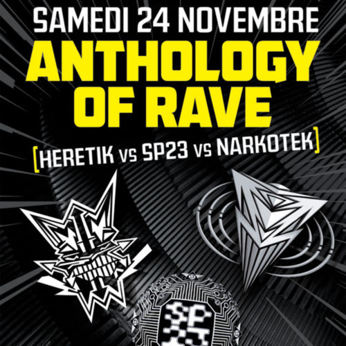 Anthology of Rave au Double Mixte avec Mediatone et Audiogenic