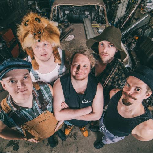 STEVE'N'SEAGULLS en concert à Lyon avec Mediatone