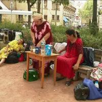 Concert de rentrer en soutien aux_familles_expulsees_s_installent_place_sathonay