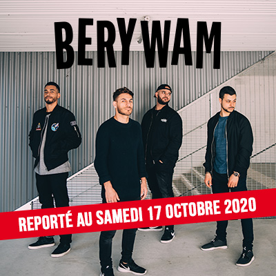 BERYWAM en concert au Transbordeur avec Mediatone