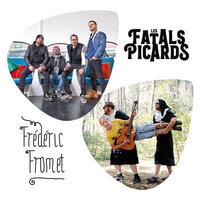 Les Fatals Picards   Frédéric Fromet au Transbordeur