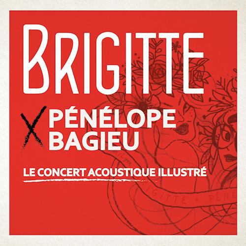 Brigitte et Pénélope Bagieu en concert illustré au Transbordeur