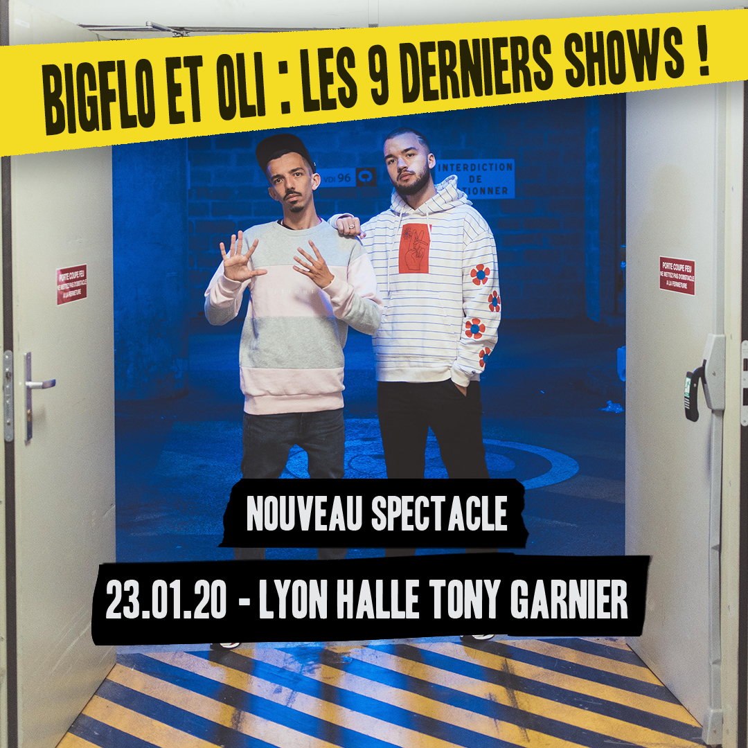 BIGFLO ET OLI en concert à la Halle Tony Garnier à Lyon