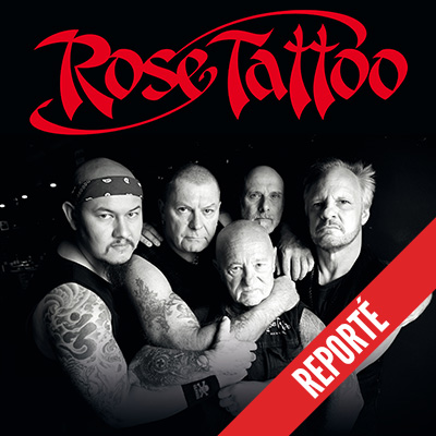 ROSE TATTOO en concert au Ninkasi Gerland Kao