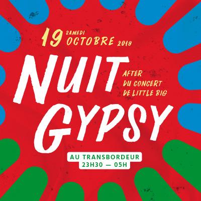 NUIT GYPSY organisée en collaboration par Mediatone et le Gypsy Festival
