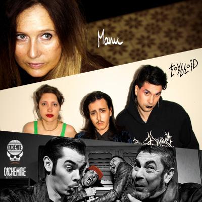 MANU   TOYBLOÏD   CACHEMIRE en concert à Lyon avec Mediatone