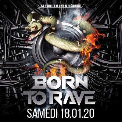 BORN TO RAVE AU DOUBLE MIXTE - 18 janvier 2020
