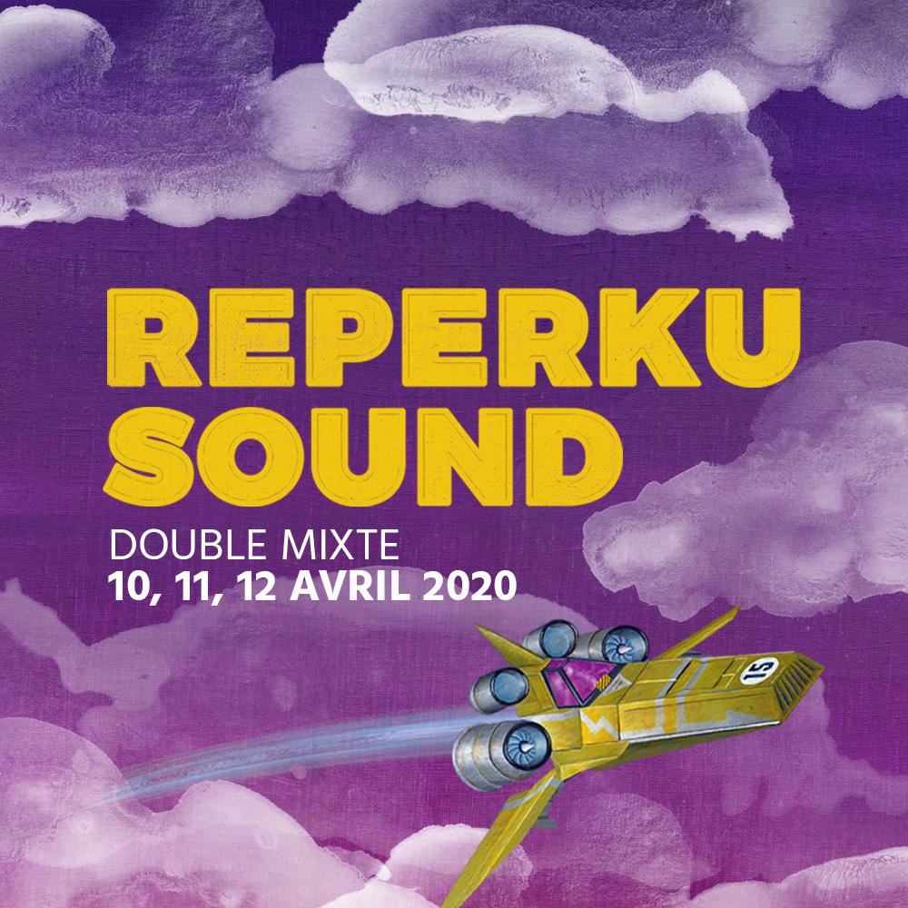 Festival REPERKUSOUND #15 organisé par Mediatone en avril 2020 au Double Mixte
