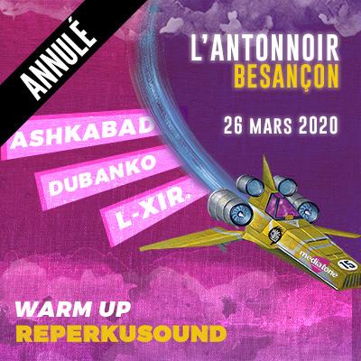 Warm up Reperkusound 15 à Besançon