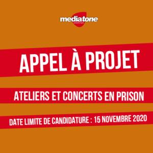 Appel à projet - ateliers et concerts en milieu carcéral avec Mediatone