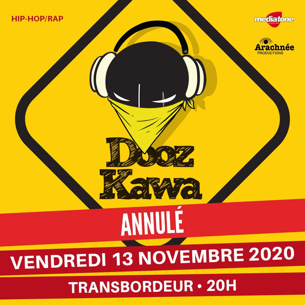 DOOZ KAWA en concert au Transbordeur avec Mediatone