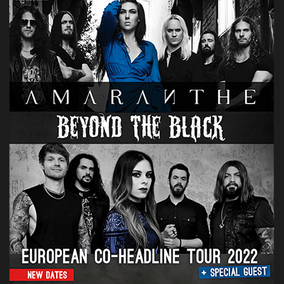 AMARANTHE   BEYOND THE BLACK en concert à Lyon