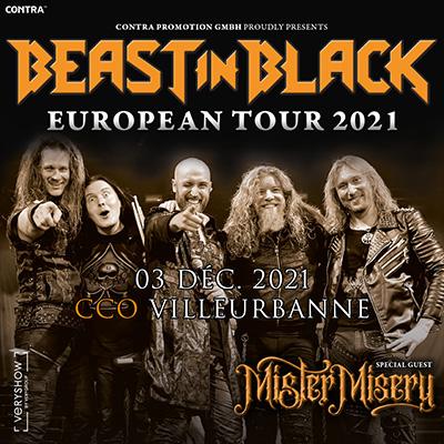 Beast in Black en concert à Lyon avec Mediatone