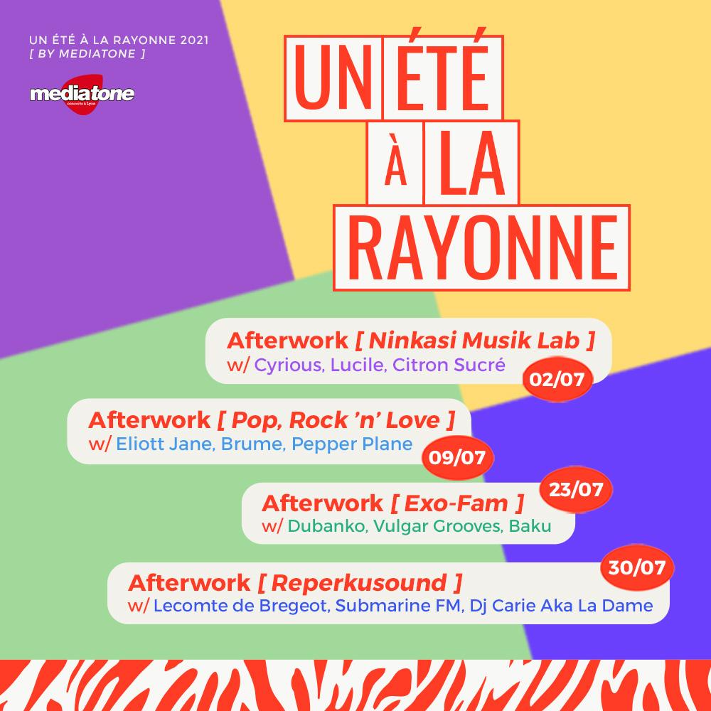 Un été à la Rayonne by Mediatone