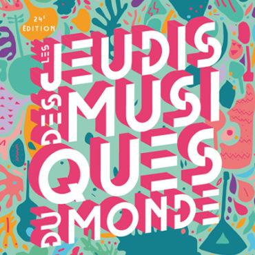 Les jeudis des Musiques du Monde #3 au Jardin des Chartreux le 22 juillet 2021