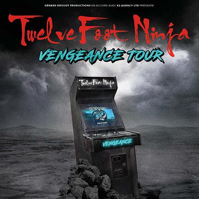 Twelve Foot Ninja en concert au CCO de Villeurbanne avec Mediatone